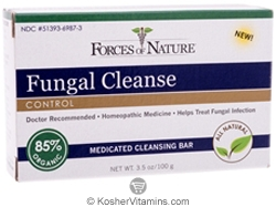 Forces Of Nature Fungal Cleanse Control Bar Soap 3.5 OZ