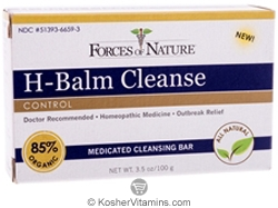 Forces Of Nature H-Balm Cleanse Control Bar Soap 3.5 OZ