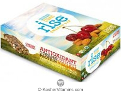 Rise Kosher Energy+ Bar Cherry Almond Dairy 12 Bars