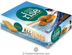 Rise Kosher Protein+ Bar Almond Honey Dairy 12 Bars
