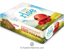 Rise Kosher Energy+ Bar Raspberry Pomegranate Dairy 12 Bars