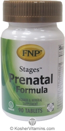 Freeda Kosher FNP Stages Prenatal Formula 90 Tablets