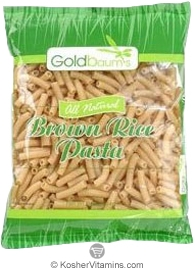 Goldbaum's Kosher All Natural Brown Rice Pasta Penne Gluten Free 16 OZ