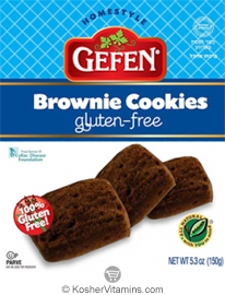 Gefen Kosher Brownie Cookies Gluten Free 5.3 OZ