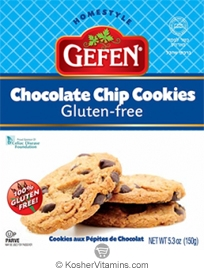 Gefen Kosher Chocolate Chip Cookies Gluten Free 5.3 OZ