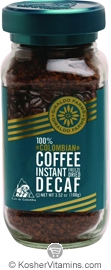 Giraldo Farms Kosher 100% Colombian Freeze Dried Coffee Decaf 3.52 OZ