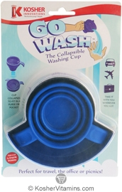Kosher Innovations Kosher Go Wash The Collapsible Washing Cup 1 Cup