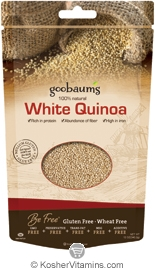 Goobaum's Kosher White Quinoa 100% Natural 12 OZ