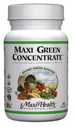 Maxi Health Kosher Maxi Green Concentrate 180 Vegetable Capsules