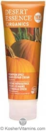 Desert Essence Hand Repair Cream Pumpkin Spice 4 OZ