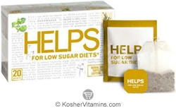 Helps Kosher For Low Sugar Diets Tea 20 Sachets