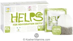 Helps Kosher Kids For Rehydration Diets Tea 20 Sachets