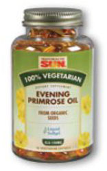 Health From The Sun Organic Evening Primrose Oil 1000 mg. With GLA 100 mg  100% Vegetarian Suitable not Certified Kosher 90 Vegetarian Softgels