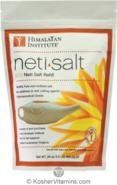 Himalayan Institute Kosher NetiSalt Eco Neti Salt Refill 24 OZ