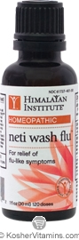 Himalayan Institute Neti Wash Flu 1 OZ