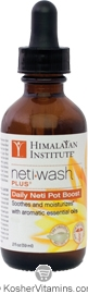 Himalayan Institute NetWash Plus Daily Neti Pot Boost 2 OZ
