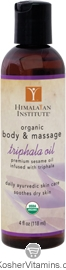 Himalayan Institute Triphala Body and Massage Oil Organic 4 OZ