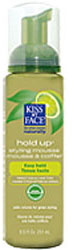 Kiss My Face Hold Up Styling Mousse Green Tea And Lime 8.5 OZ