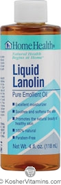 Home Health Liquid Lanolin 4 OZ