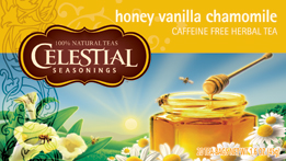 Celestial Seasonings Kosher Honey Vanilla Chamomile Herb Tea 20 Bags