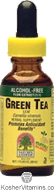 Natures Answer Kosher Super Green Tea 100 Mg Alcohol Free 2 OZ
