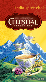 Celestial Seasonings Kosher India Spice Chai 20 Bag