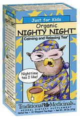 Traditional Medicinals Kosher Just for Kids Organic Nighty Night 18 Tea Bags