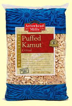 Arrowhead Mills Kosher Puffed Kamut Organic Cereal 1 Bag