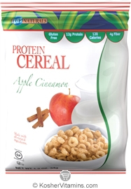 Kay's Naturals Kosher Protein Cereal Apple Cinnamon Gluten Free Dairy Case of 6 1.2 OZ