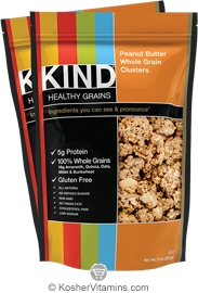 Kind Kosher Healthy Grains Clusters Peanut Butter Whole Grain Dairy 6 Pack 11 OZ