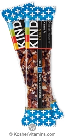 Kind Kosher Plus Bar Blueberry Pecan + Fiber 12 Bars