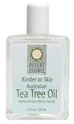 Desert Essence Kinder To Skin Australian Tea Tree Oil 4 OZ
