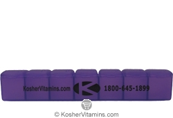 KosherVitamins.com 7 Day Pill Organizer - Free with a $79 Purchase 1 Pill Case