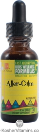 L.A. Naturals Kosher Aller-Calm Kids Wellness Formula Alcohol Free 1 OZ