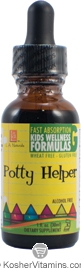 L.A. Naturals Kosher Potty Helper Kids Wellness Formula Alcohol Free 1 OZ