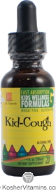 L.A. Naturals Kosher Kid-Cough Kids Wellness Formula Alcohol Free 1 OZ