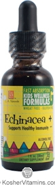L.A. Naturals Kosher Echinacea+ Kids Wellness Formula Alcohol Free 1 OZ