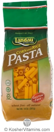 Landau Kosher Corn and Rice Pasta Penne Gluten Free 14 OZ