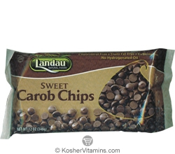 Landau Kosher Sweet Carob Chips Parve 12 OZ