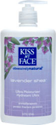 Kiss My Face Moisturizer Lavender And Shea Butter  16 OZ