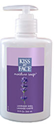 Kiss My Face Moisture Liquid Soap Lavender Shea 9 OZ