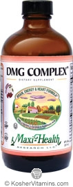 Maxi Health Kosher DMG Complex Liquid Cherry Flavor 8 OZ