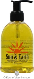 Sun & Earth Liquid Hand Soap Citrus 8 OZ
