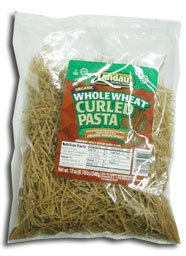 Landau Kosher Whole Wheat Pasta Curled Organic 12 OZ