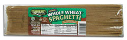Landau Kosher Whole Wheat Pasta Spaghetti Organic 16 Oz