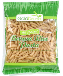 Goldbaum's Kosher All Natural Brown Rice Pasta Penne Gluten Free 16 Oz.