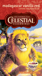 Celestial Seasonings Kosher Madagascar Vanilla Red Tea 20 Bags