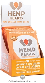 Manitoba Harvest Kosher Natural Hemp Hearts Raw Shelled Hemp Seeds 12 Packets