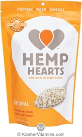 Manitoba Harvest Kosher Natural Hemp Hearts Raw Shelled Hemp Seeds 2 OZ