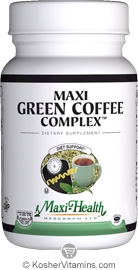 Maxi Health Kosher Maxi Green Coffee Complex 90 MaxiCaps